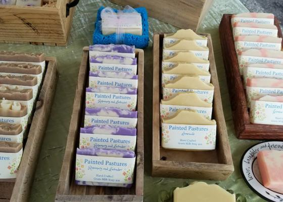 Painted Pastures Goat Milk Soaps
