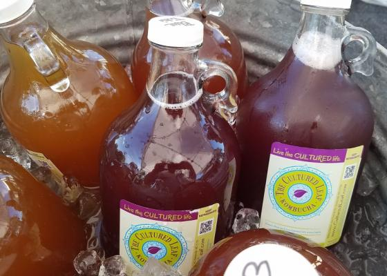 Cultured Leaf Kombucha